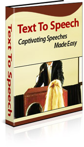 Text To Speech book cover